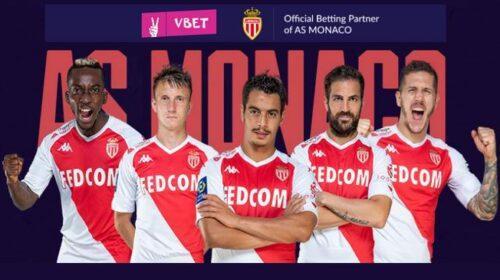 Vbet - official betting partner AC Monaco