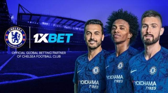 Chelsea FC is partner 1XBet